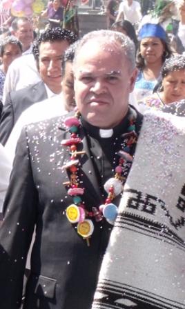 Obispo Electo Rafael Valdez Torres (Foto tomada del portal de la Diócesis de Ensenada)