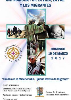 XVII Marcha por la Vida, la Paz y los Migrantes