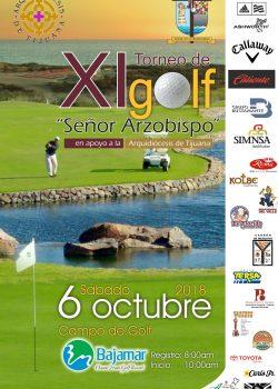 """XI Torneo de Golf Sr. Arzobispo"""