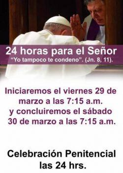 24 HORAS PARA EL SEÑOR