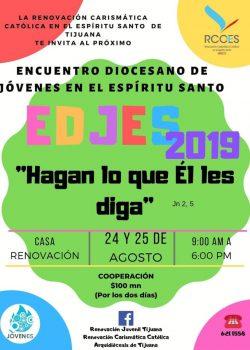 Encuentro Diocesano de Jóvenes en el Espíritu Santo