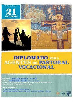 Diplomado para agentes de Pastoral Vocacional