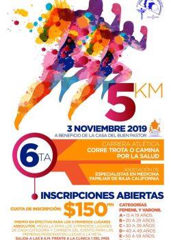 """Comisión Diocesana de Pastoral de la Salud: realizará la 6ta Carrera Atlética """"Corre, trota o camina por la salud"""""""