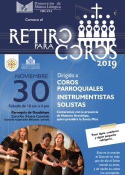 Retiro para coros 2019