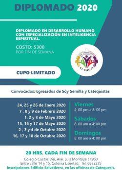 Diplomado en Desarrollo Humano con Especialización en Inteligencia Espiritual