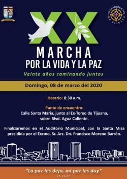 XX Marcha por la Vida y la Paz