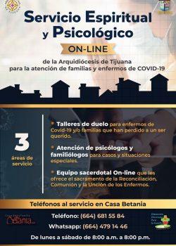 Servicio Espiritual y Psicológico ON-LINE