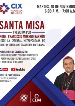 Santa Misa de la CIX Asamblea Plenaria de la CEM