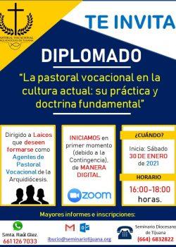 Diplomado: La Pastoral Vocacional en la cultura actual, su práctica y doctrina fundamental